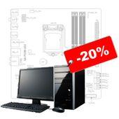Обслуживание компьютерной техники со скидкой 20%