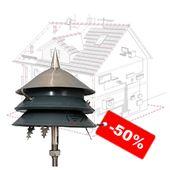 Блискавкозахист покрівлі, ціни знижені на 50%
