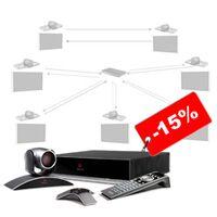 Монтаж системы видеоконференцсвязи со скидкой 15%