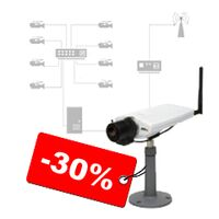 Монтаж системы видеонаблюдения со скидкой 30%