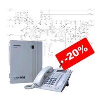 Монтаж телефонних мереж та міні АТС, ціна знижена на 20%
