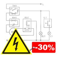 Обслуговування електричних мереж, вартість знижена на 30%