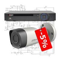 Відеореєстратори та камери «Dahua» зі знижкою 5%