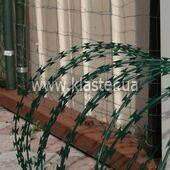 Колючее заграждение Егоза (Гюрза) Казачка 450/3 PVC