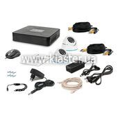 Комплект видеонаблюдения Tecsar 2OUT-DOME LUX