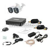 Комплект відеоспостереження Tecsar 2OUT LIGHT LUX