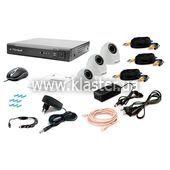 Комплект відеоспостереження Tecsar 3IN-3M DOME