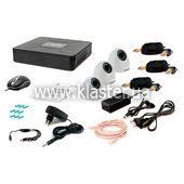 Комплект видеонаблюдения Tecsar 3IN DOME
