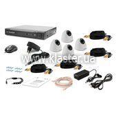 Комплект видеонаблюдения Tecsar 4IN-3M DOME