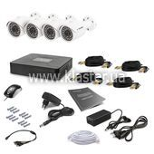 Комплект видеонаблюдения Tecsar 4OUT