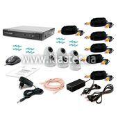 Комплект відеоспостереження Tecsar 6IN-3M DOME
