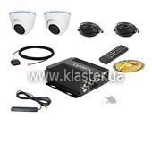 Комплект для транспорта CarVision MDVR004/3G/GPS Kit-2x