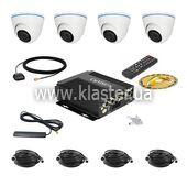Комплект для транспорта CarVision MDVR004/3G/GPS Kit-4x