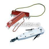 Розшивка кабелю на плінти