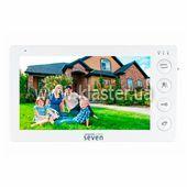Видеодомофон Seven DP-7574 white