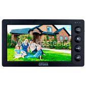 Видеодомофон Seven DP-7574 black