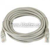 Патч-корд Kingda KD-PAUT6500GY RJ45 UTP cat 6 5m