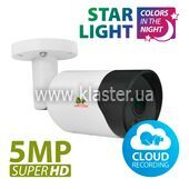 IP-видеокамера Partizan IPO-5SP Starlight v1.0 Cloud