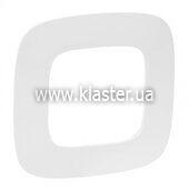Рамка Legrand Valena ALLURE 1 пост біла (754301)