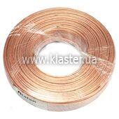 Акустичний кабель Dialan CU 2x0,50 мм прозорий ПВХ 50 м (006037)