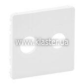 Лицевая панель розетки TV-Sat Legrand Valena LIFE белый (754820)