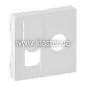 Лицевая панель розетки TV+Rj Legrand Valena LIFE белый (754830)