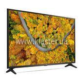 """Телевізор LG 55"""" чорний (55UP75006LF)"""