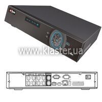 Відеореєстратор Dahua DH-DVR0404HF-AN