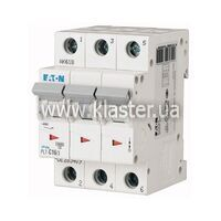 Автомат Eaton PL7-B16/3 (263389)