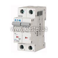 Автомат Eaton PL7-C1,6/2 (165093)