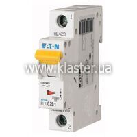 Автомат Eaton PL7-B25/1 (262678)